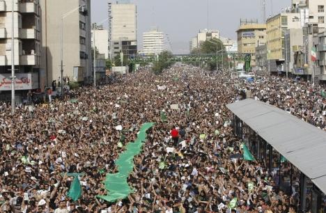 جنبش سبز مردم ایران